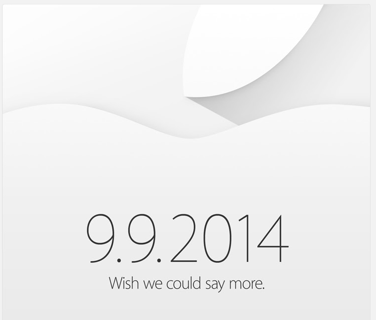 Apple officially holding event September 9th: `wish we could say more`