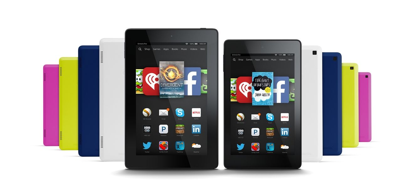 The Kindle Fire HD 6